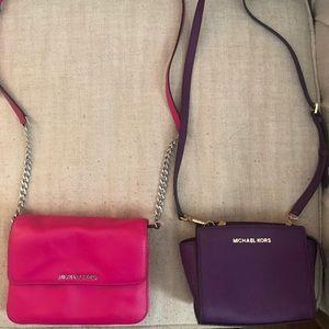 2 Michael Kors Crossbody bags